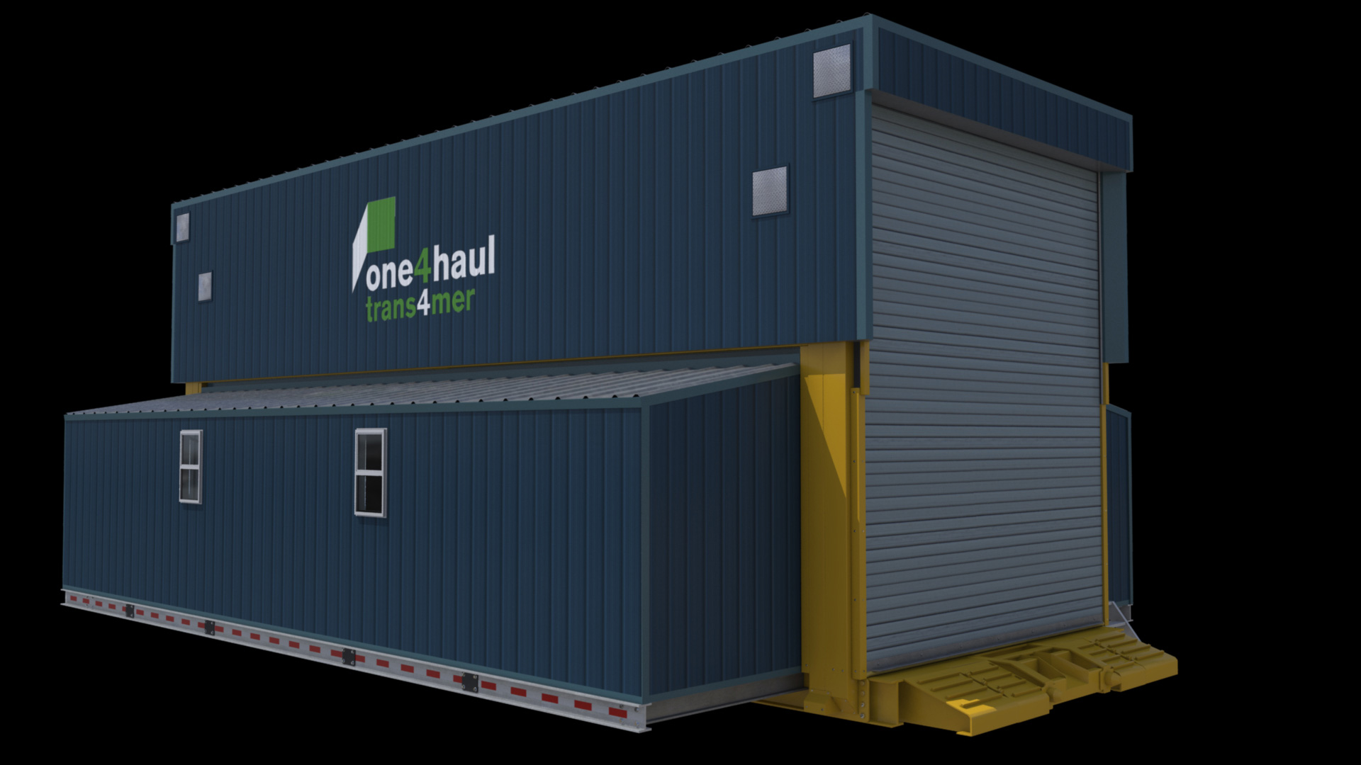 extreme portable buildings trans4mer main structure exterior left side thumbnail