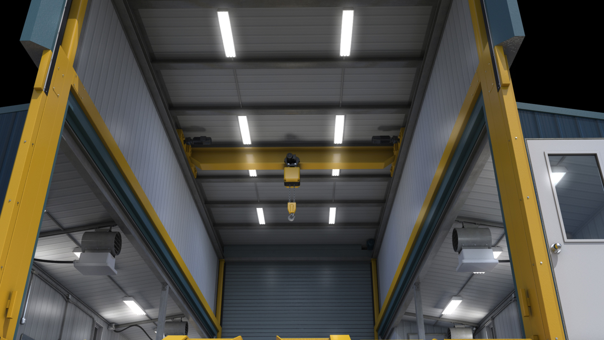 extreme portable buildings trans4mer main structure main ceiling thumbnail