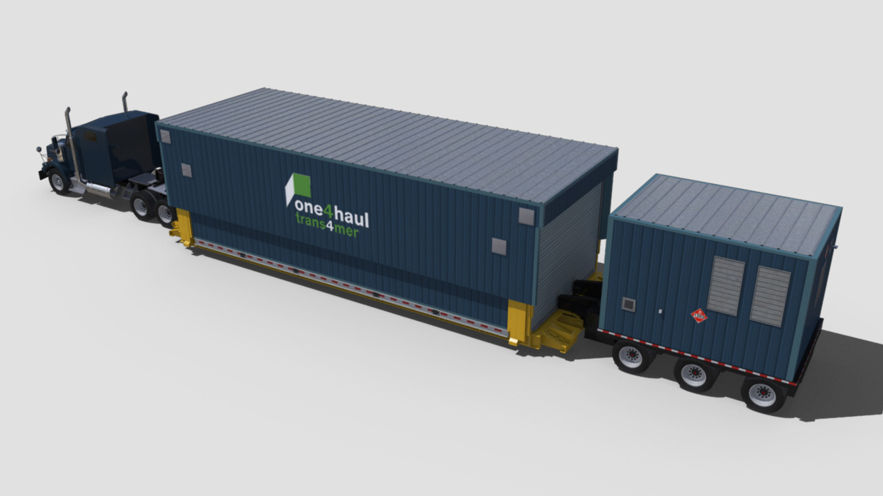 extreme portable buildings trans4mer transport mode top rear left thumbnail