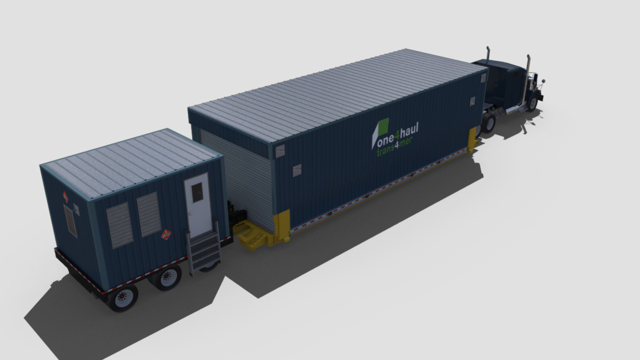 extreme portable buildings trans4mer transport mode top rear right thumbnail
