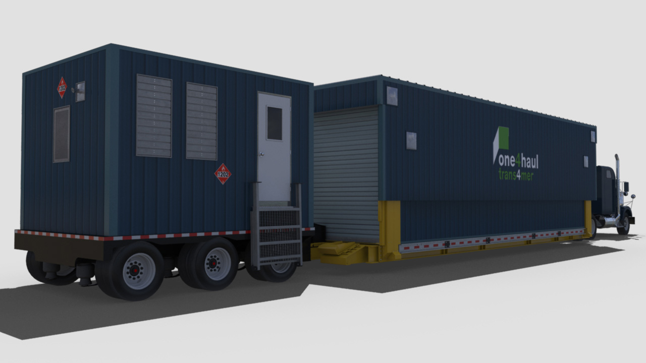 extreme portable buildings trans4mer transport mode rear right thumbnail